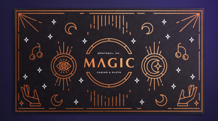 Magic Casino - Branding