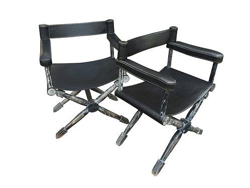 Paire de fauteuil par Jean-Michel Frank