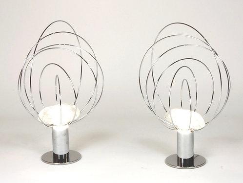 Paire de lampe par Angelo Brotto