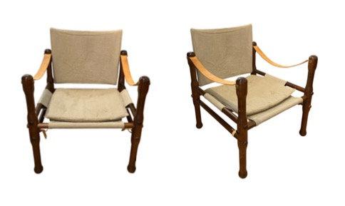 Paire de fauteuil par Kaare Klint