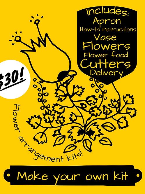 Make your own flower kit!