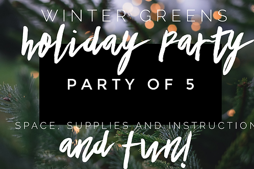 Party of 5 Holiday Party!