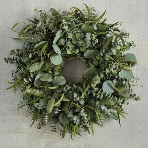 "Eucalyptus 20"" Wreath"