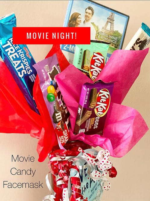 We love you Mom-Movie Night!