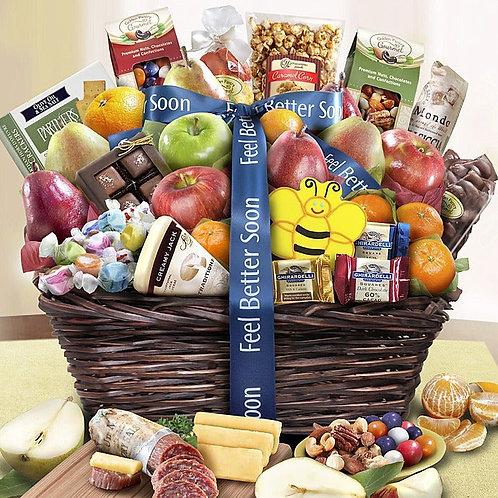 Feel better Gourmet Basket