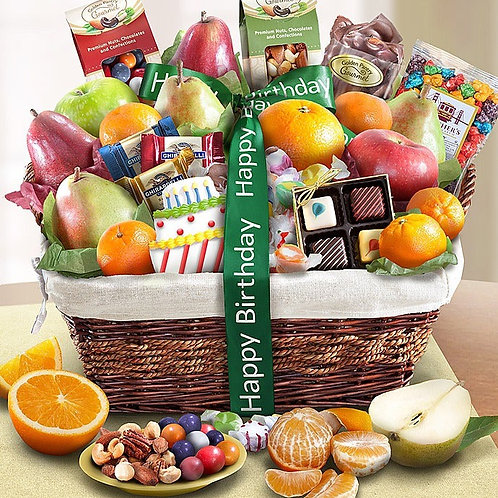 Happy birthday Gourmet Basket