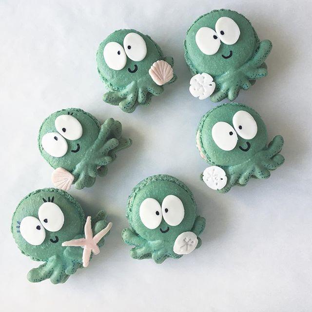 Octopus Macarons