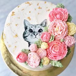 Purrfect Purrrthday Cake