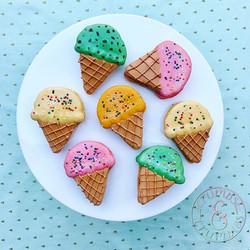Ice Cream Cones macaron