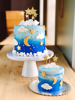 Sky Full of Stars Cake