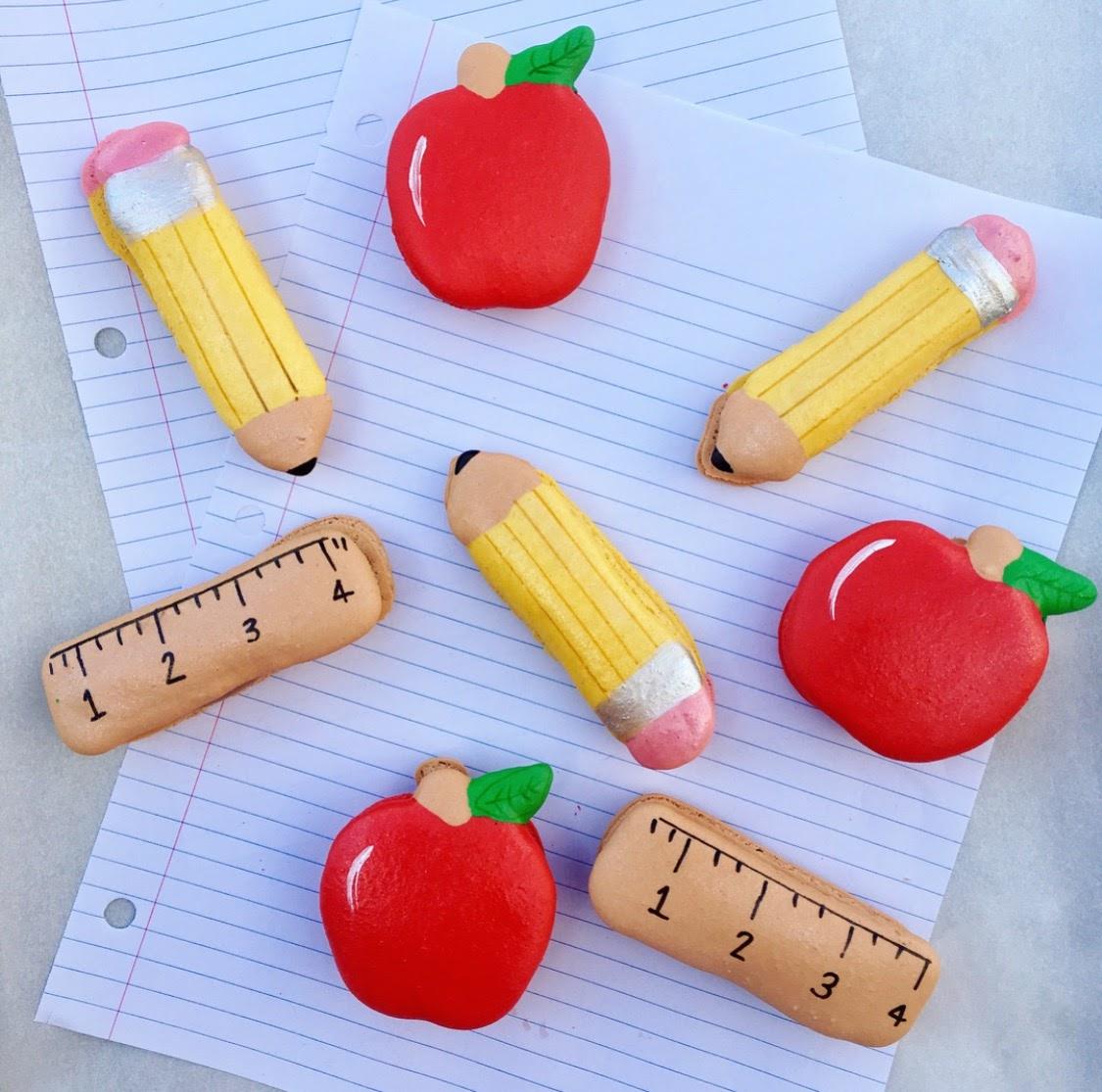 School Macarons