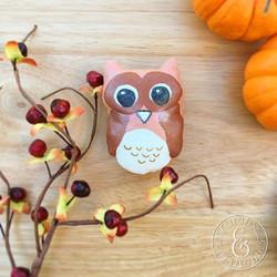 Owl Macaron