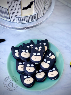 Batman Macaron