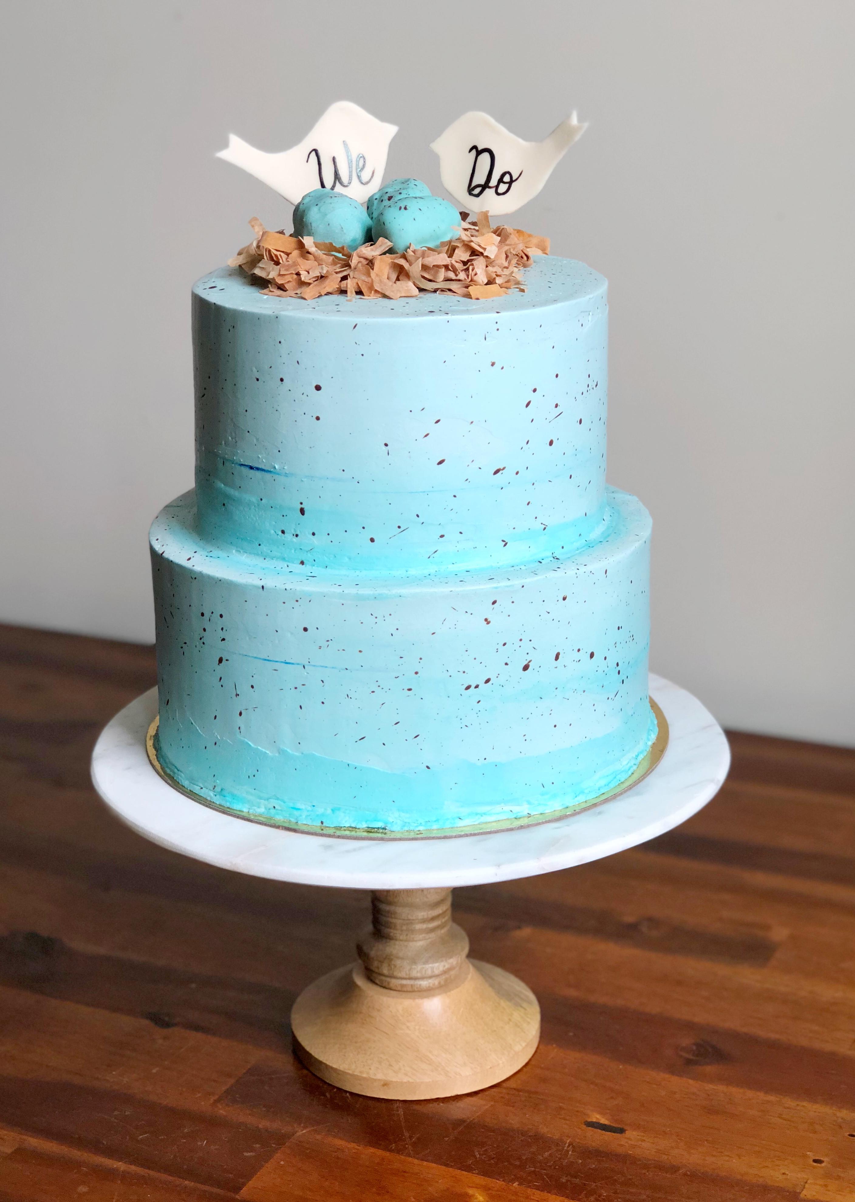 Robin's Egg Cake