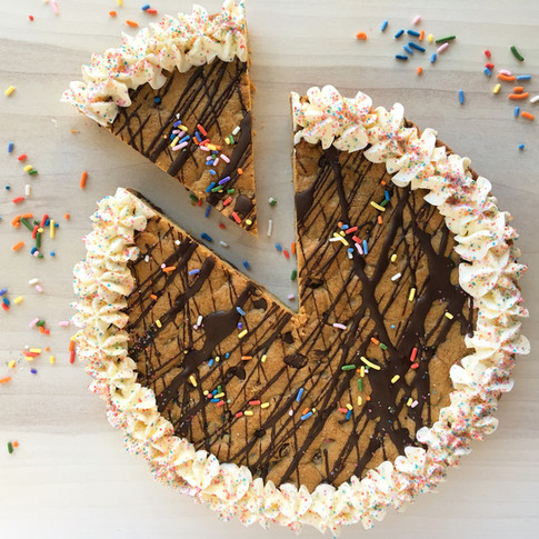 Giant Cookie Pie