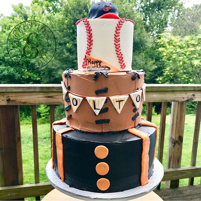Orioles Birthday Cake