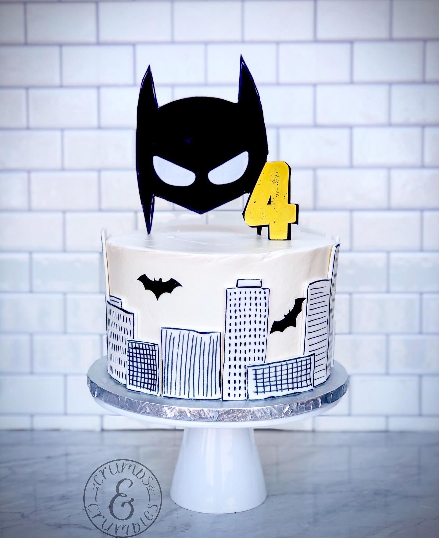Gotham City Cake