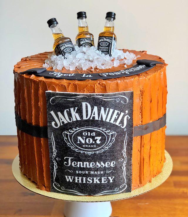 Jack Daniels Whiskey Caramel Cake