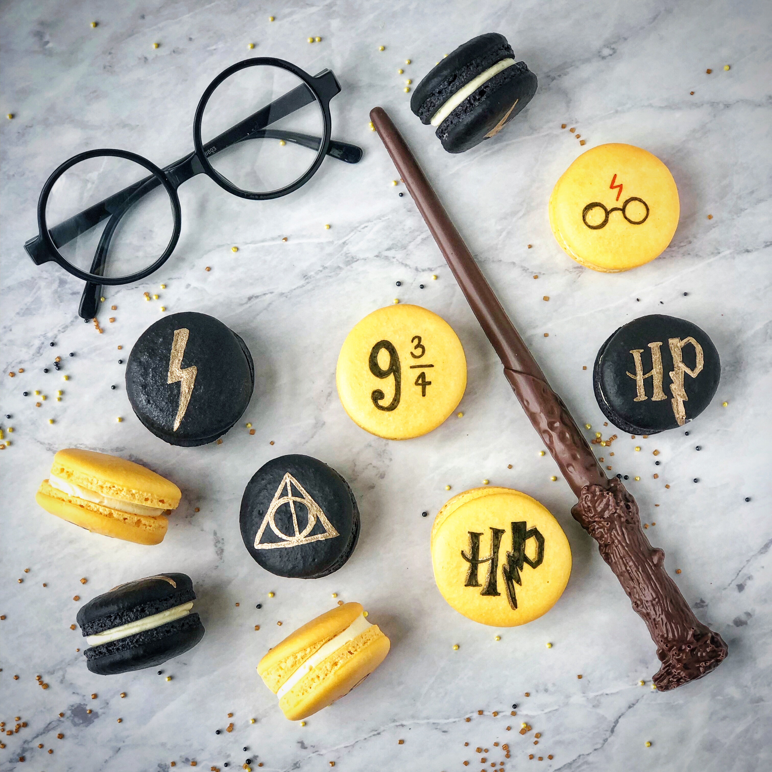 Harry Potter Inspired Macaron