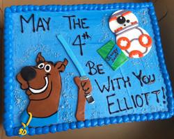 Scooby Doo Star Wars Cake