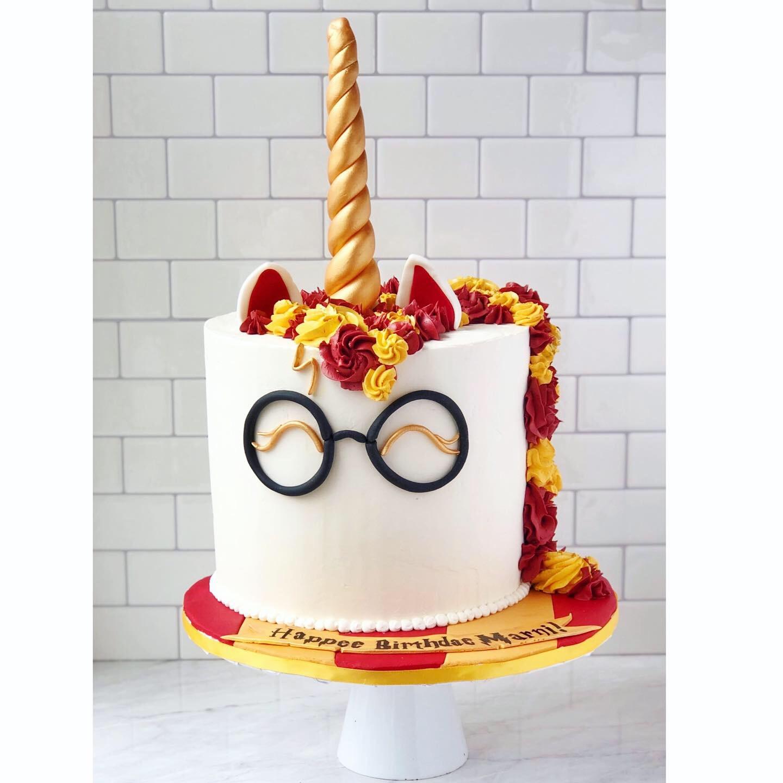 Harry Potter Unicorn Cake