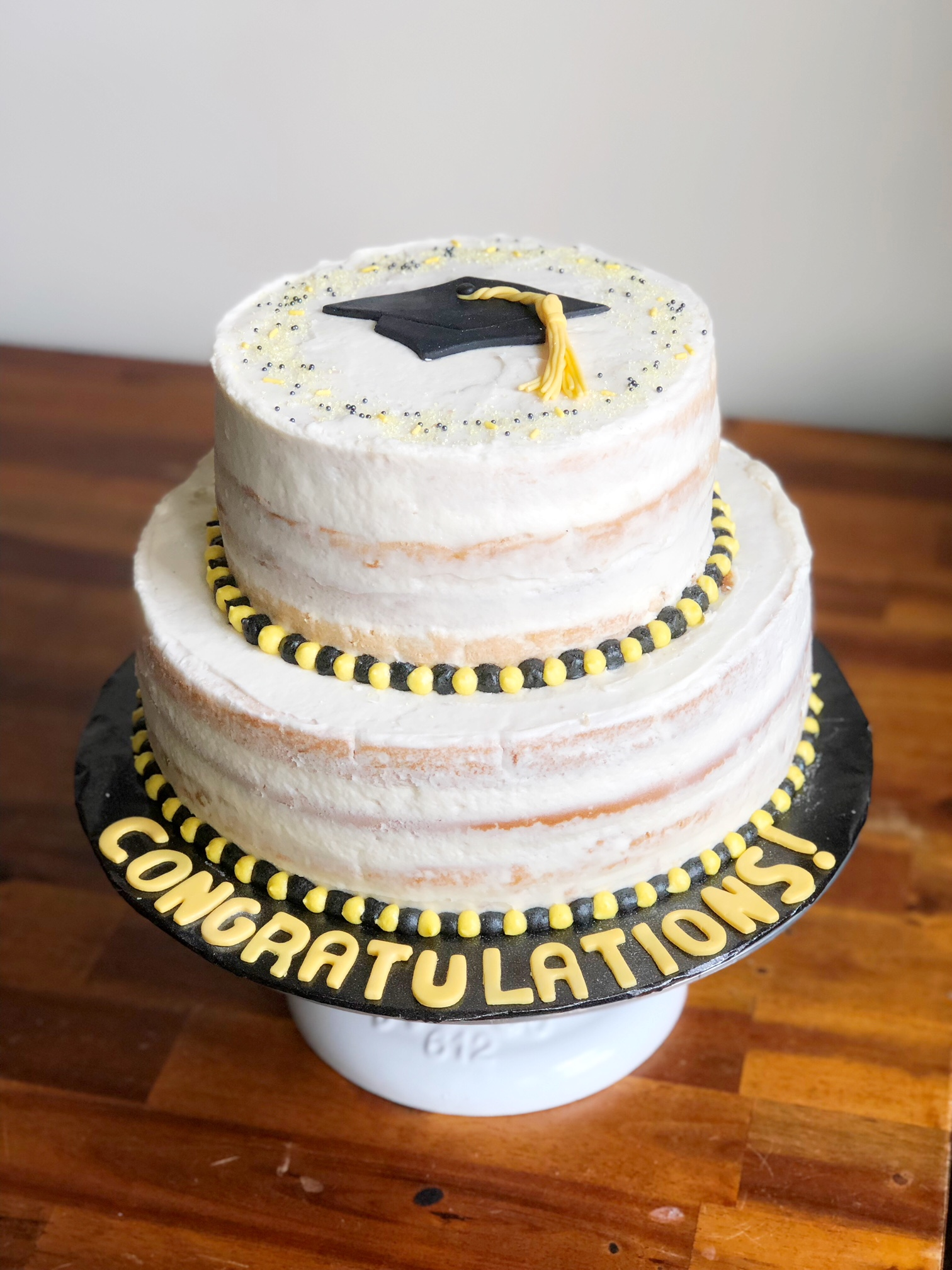 Vegan Grad cake
