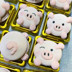 Pig Macaron