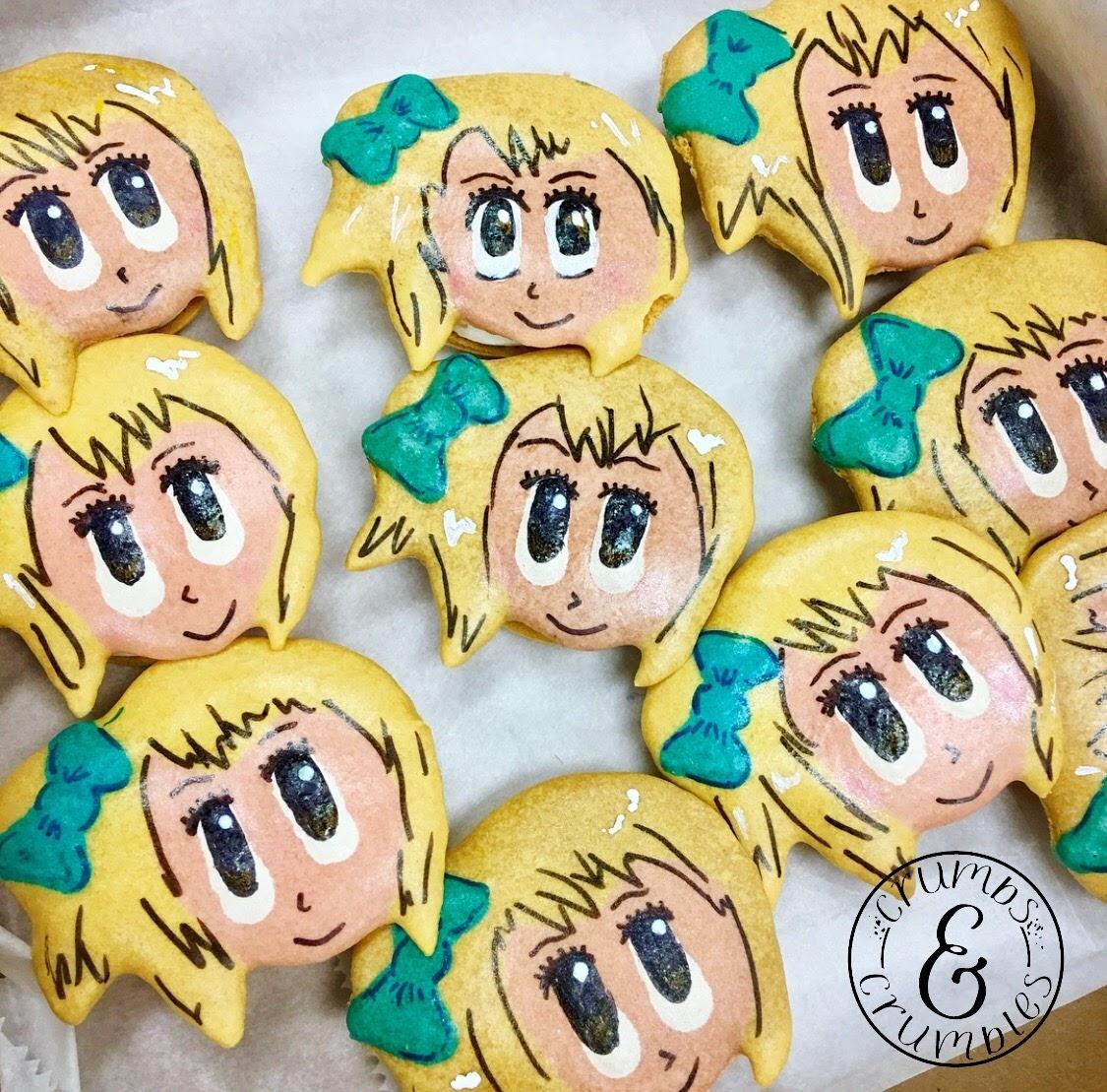 Anime Macarons