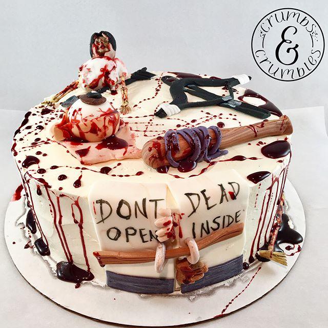 The Walking Dead birthday cake