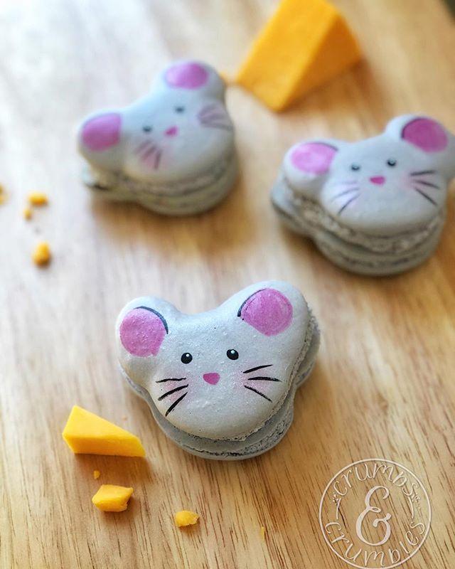 Mouse Macarons