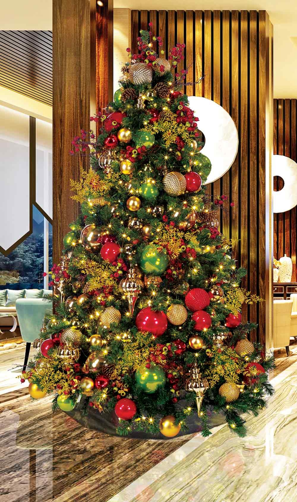Tower II - Lobby Tree (1)