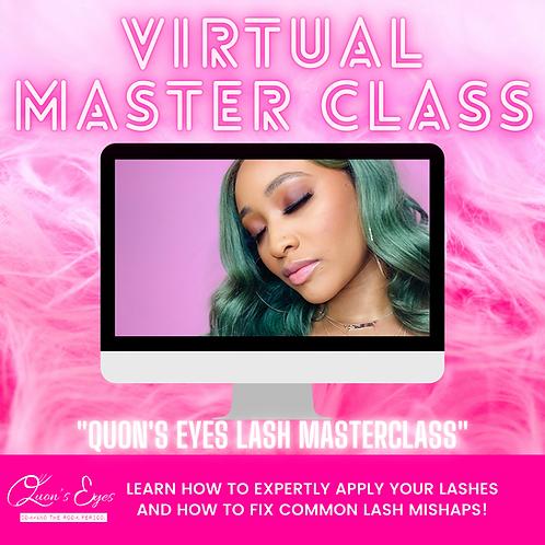 Virtual Lash Master Class