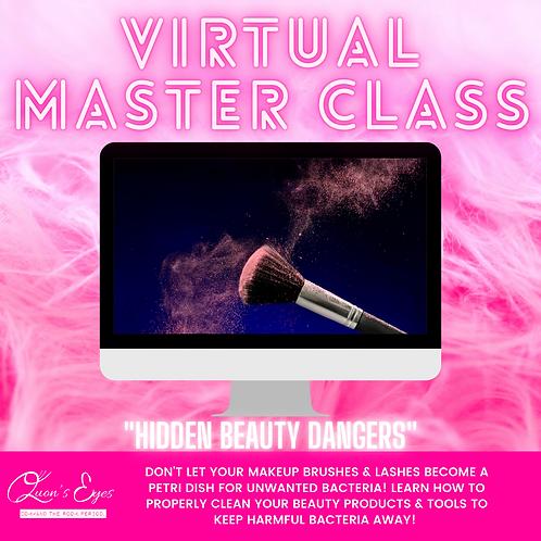 Hidden Beauty Dangers Virtual Master Class