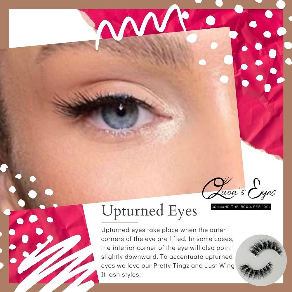 quon's eyes, quons eyes, best false eyelashes, best fake eyelashes, eyelashes, lashes, beauty, makeup, holiday gifts, beauty trends, upturned eyes, eye shapes