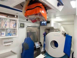 Ambulancia escáner.