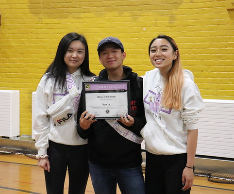 Officer of the Month - Nam Le