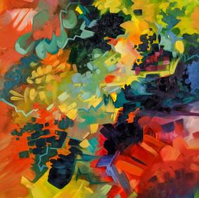 "JAR OF MINERALS   oil on canvas  18 x 24"" 2019"