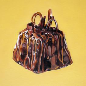 """CHRISTI   oil on canvas 12 x 12""""  2007"""