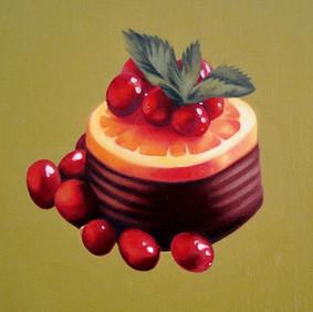 "SHEILA   oil on canvas 12 x 12""  2007"