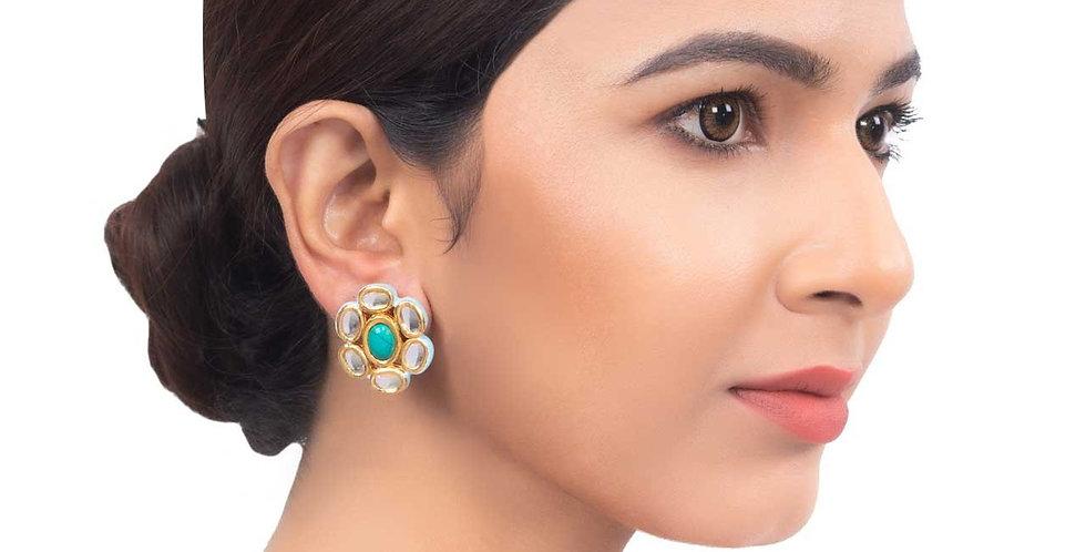Elegant Floral bloom Stud Earrings