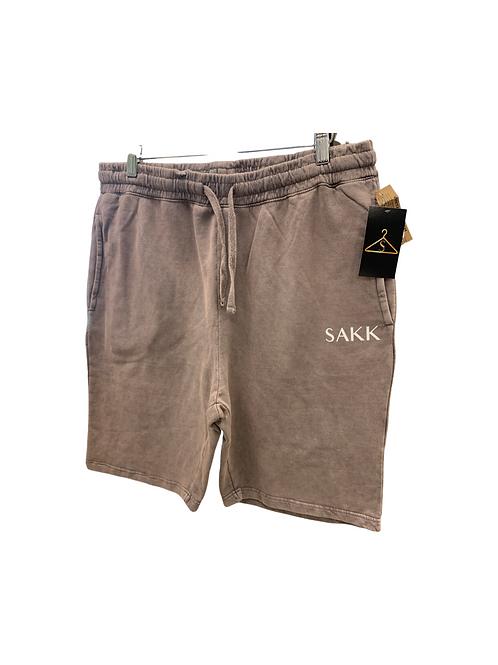 Vintage Mauve Wash Shorts