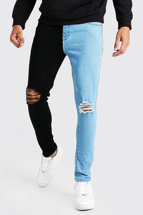 Pick A Side Jeans Blue Denim
