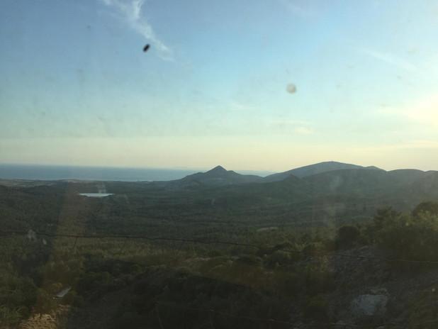 """the landscape from Agios Konstantinos Kai Eleni."""