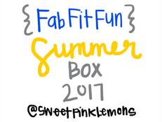 FabFitFun Summer Box 2017