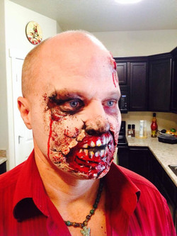 Zombie Attack Special Effect Makeup
