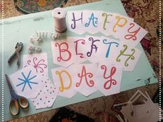 Happy Birthday Banner: Free Printable