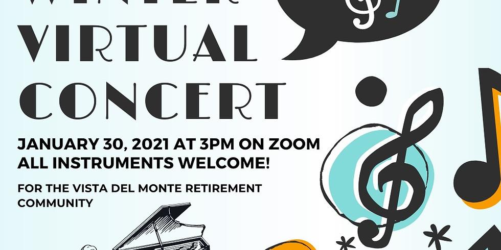UCSB Benefit Concert - Vista Del Monte Retirement Community