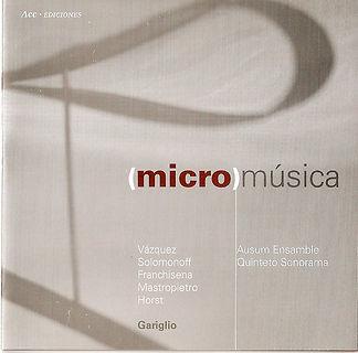 (Micro) música. Pájaros Arcanos. Natalia Solomonoff