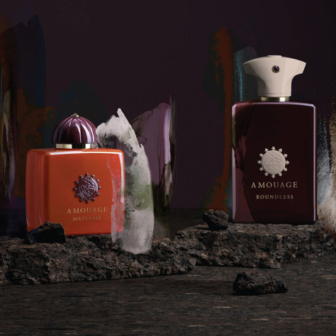 Amouage's Two New Releases (2021): Material & Boundless