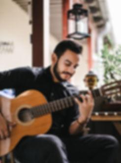 Classical guitarist playing in peacefull atmosphere. Bonza, Buddha, Guitar, Spanish Guitar, Musician, Composer
